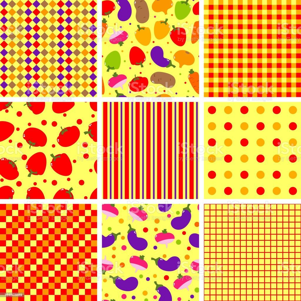 vector colorful vegetables background royalty-free stock vector art