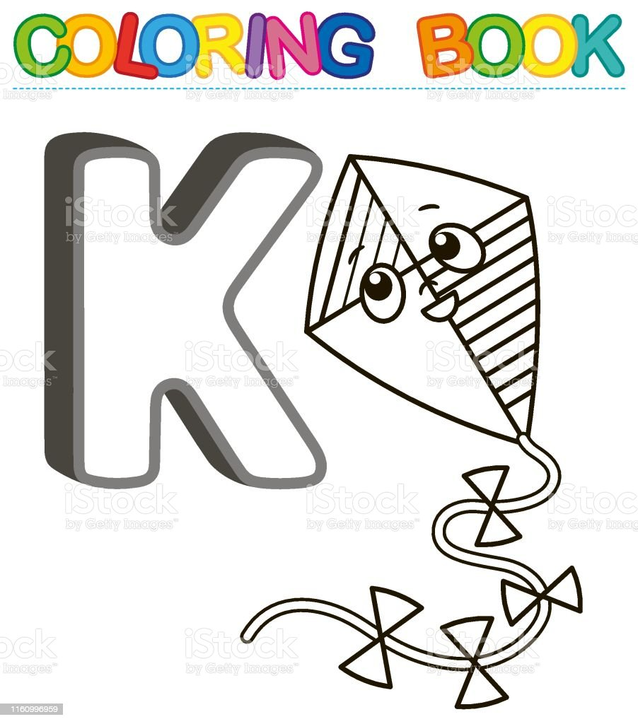 Para Colorear Ilustración Alfabeto Vectorial De Letras Libro Con trxhQdCs