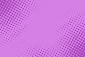 Vector comic book background. Halftone pattern in retro pop art style
