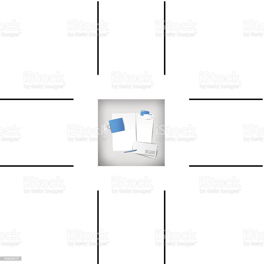 Vector company corporate style royalty-free stock vector art
