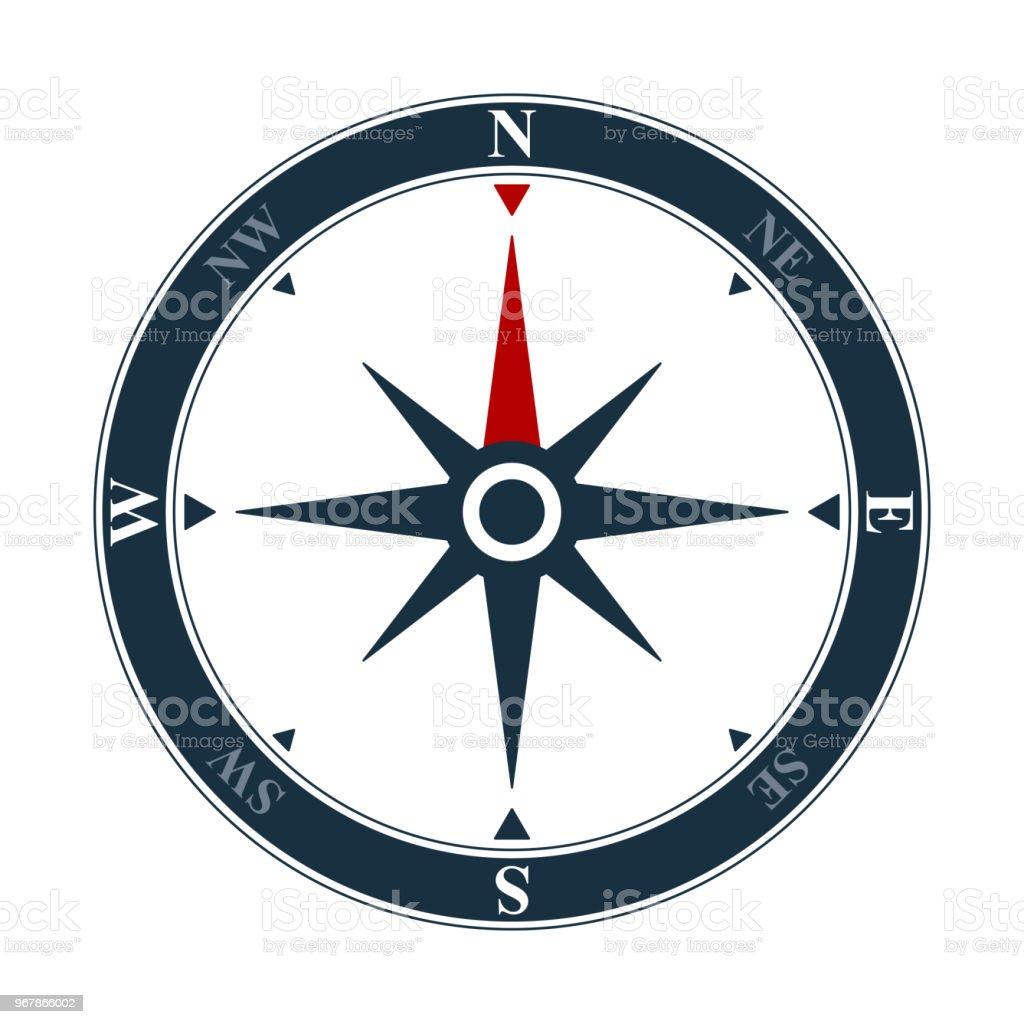 vector compass rose icon navigation symbol stock vector art more