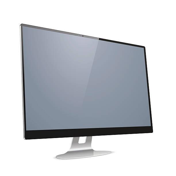 Vektor-Computer Display – Vektorgrafik