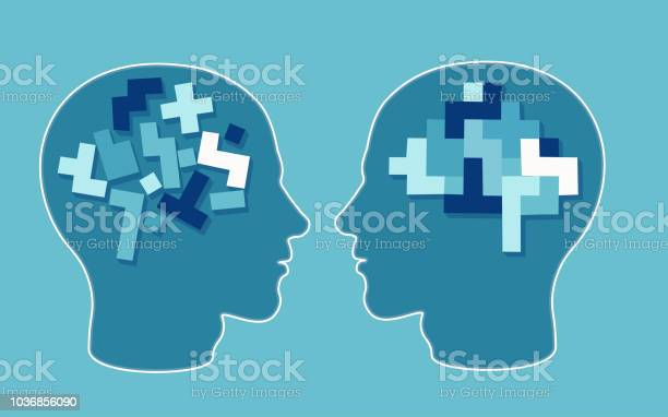 Vector concept of a puzzle head brain neurology and psychology vector id1036856090?b=1&k=6&m=1036856090&s=612x612&h=2xk3vcorrgri4heaypmhhte3rqrppgabjg ged51kxs=