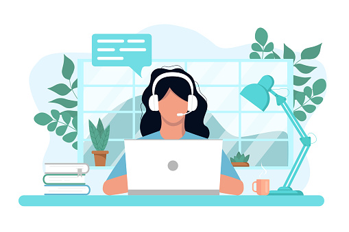 Vector concept of work and learning from home