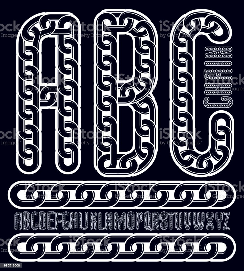 Abc Creation dedans vector condensed tall font trendy typescript can be used in art