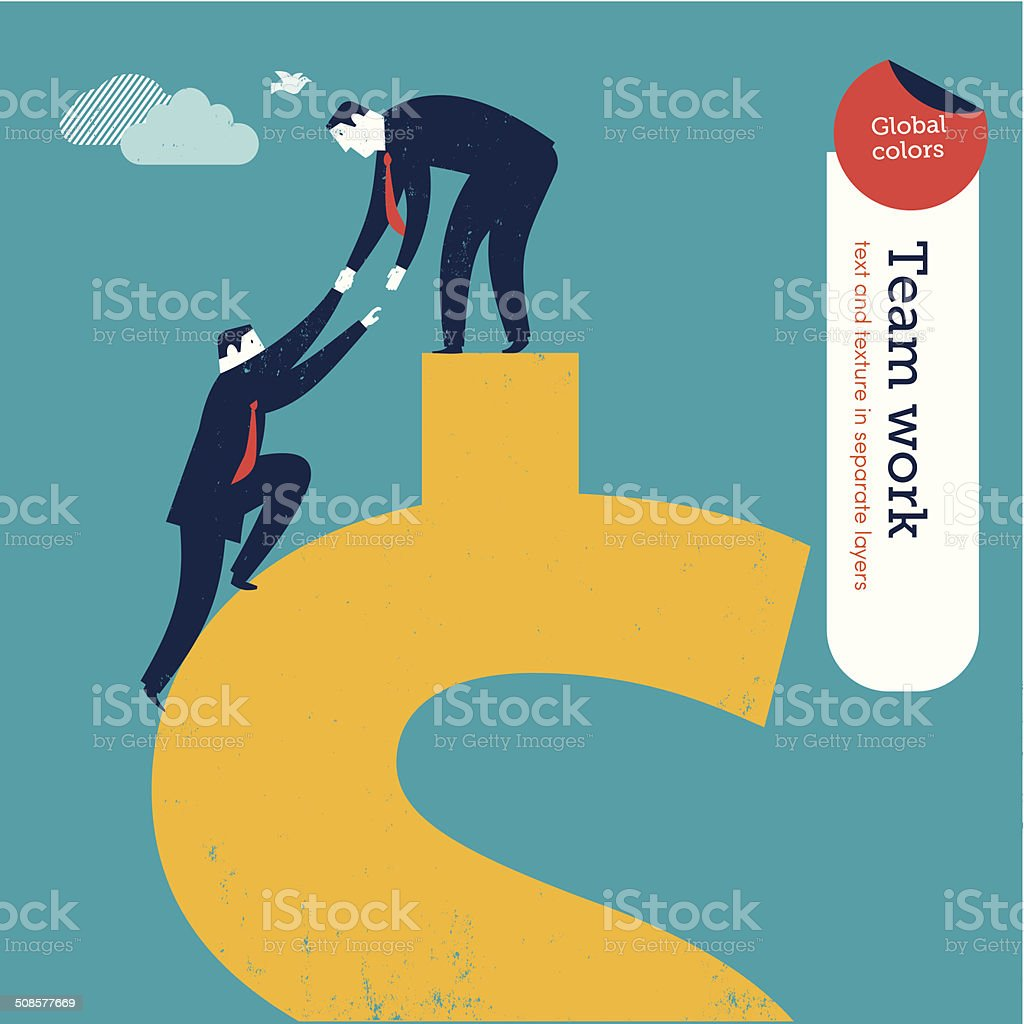 Vector Conquering the Dollar royalty-free vector conquering the dollar stock vector art & more images of achievement