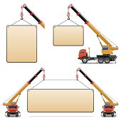 Vector Construction Machines Set 6