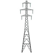 Free Radio Transmission Tower Clipart and Vector Graphics