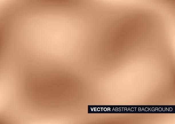 vektor kupfer metall hintergrund - kupfer stock-grafiken, -clipart, -cartoons und -symbole