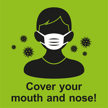 Vector - Coronavirus - Wearing Face Mask