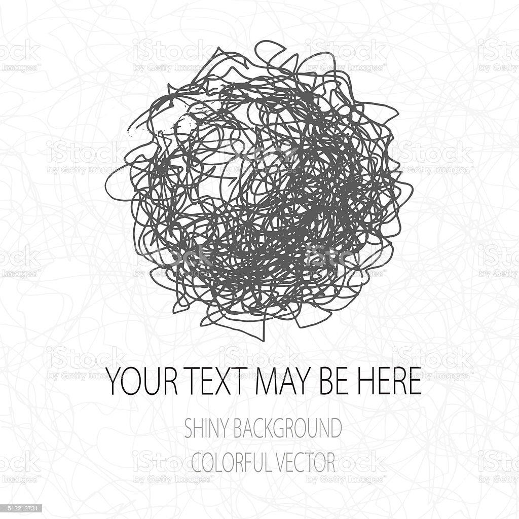 Vector corporate identity template. vector art illustration