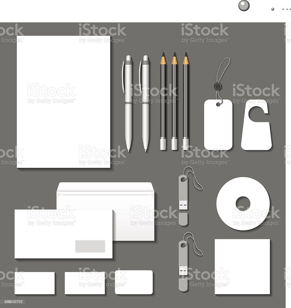 Vector corporate identity templates. ilustración de vector corporate identity templates y más banco de imágenes de arte cultura y espectáculos libre de derechos