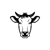 cow face stock vector art more images of animal 1062042654 istock