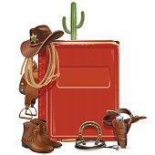 Vector Cowboy Book