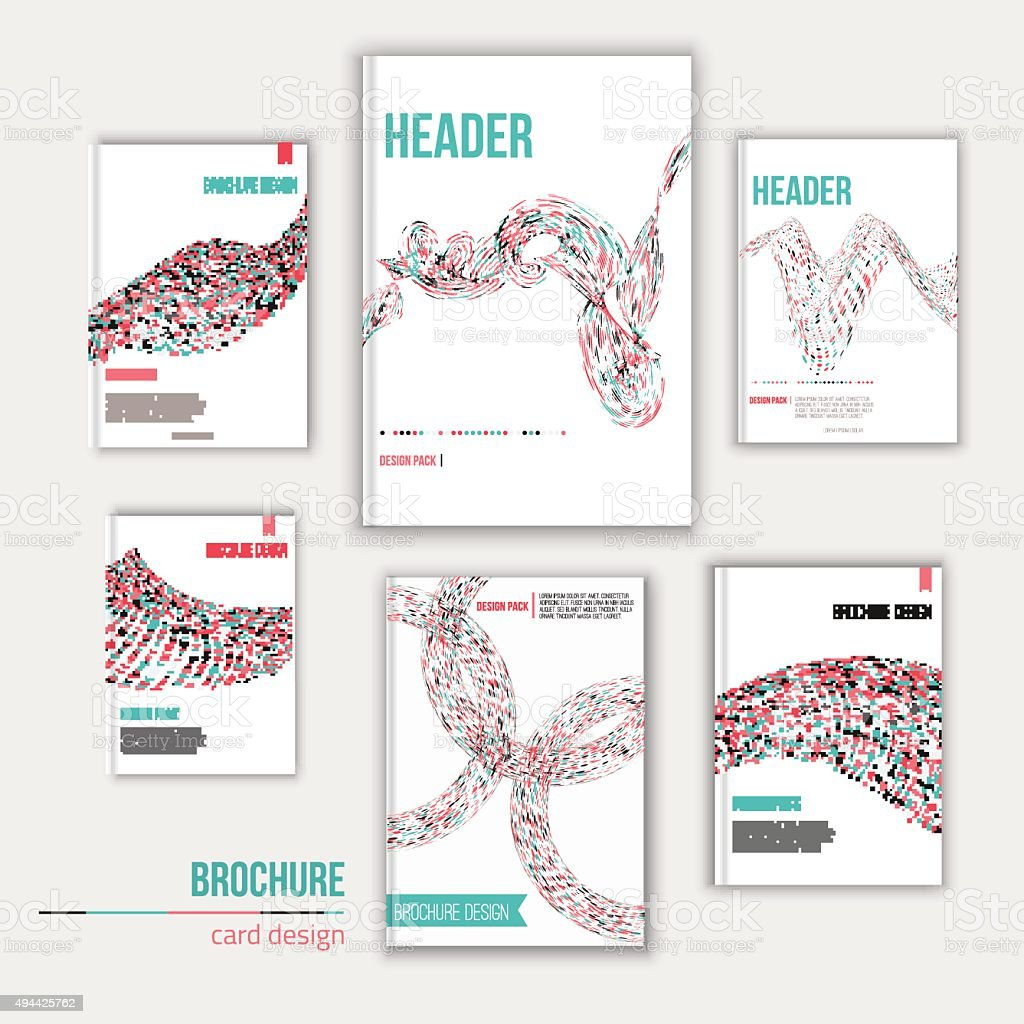 creative brochure templates free - vector creative brochure cover design templates stock