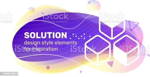 Vector creative business solution color shape illustration with text vector id1086673604?b=1&k=6&m=1086673604&s=612x612&h=yxftydiji9yxgqrefajrvo4hewaf6do0tyzmfvjf mi=