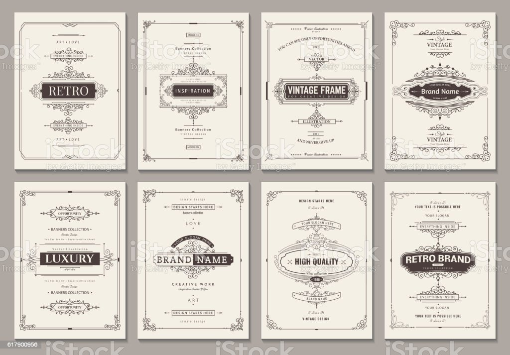 Vector creative cards royalty-free stock vector art