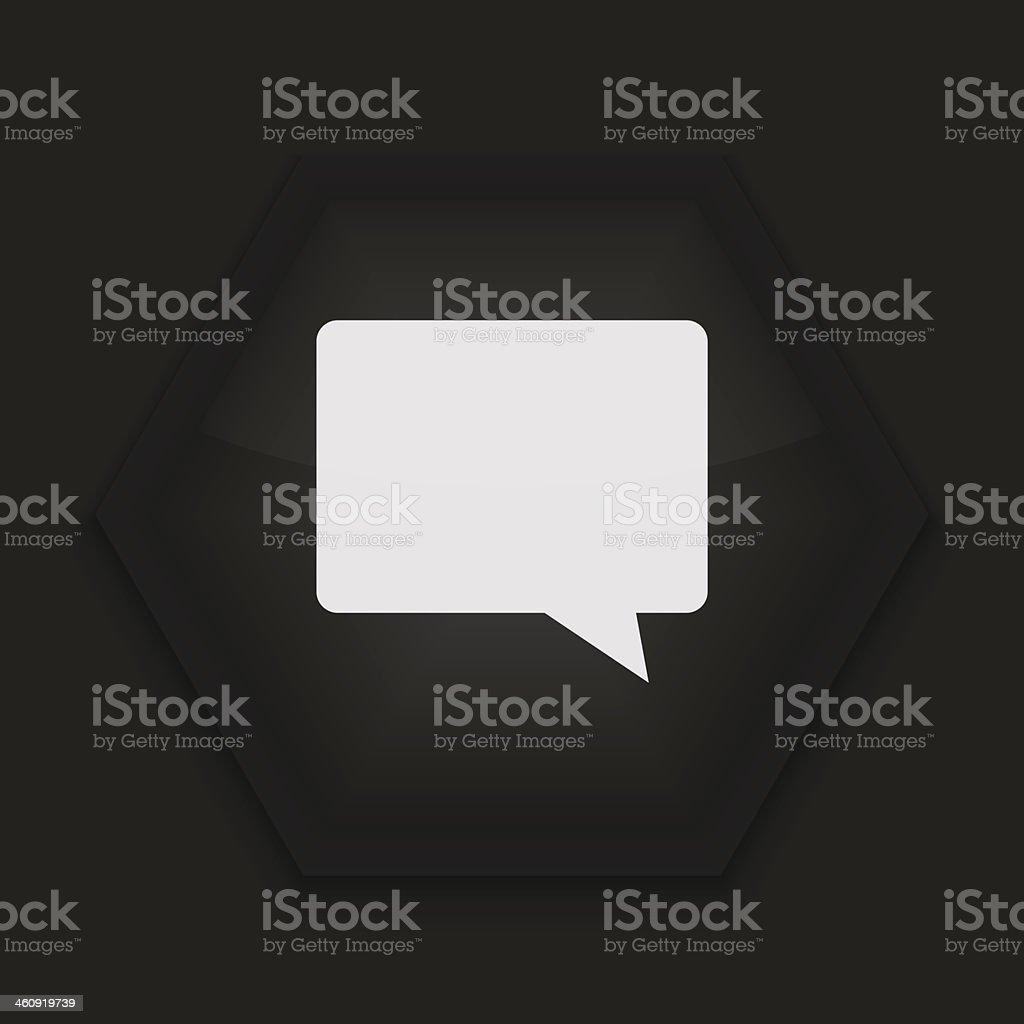 Vektor kreative-Symbol auf schwarzem Hintergrund.  Eps10 – Vektorgrafik