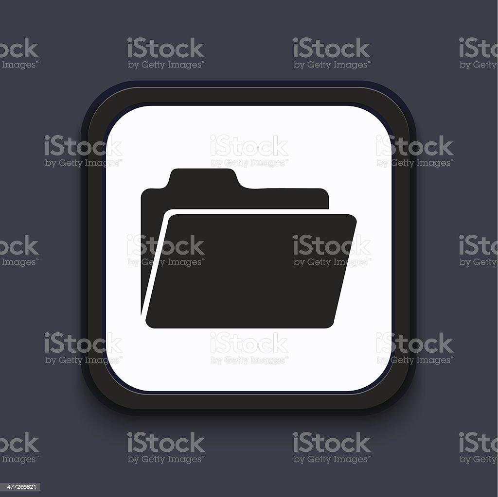 Vector creative modern square icon. Eps 10 royalty-free stock vector art