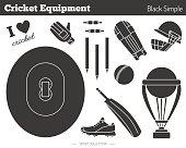 Vector cricket game design elements