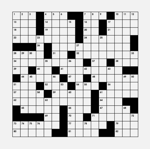 3 061 Crossword Puzzle Illustrations Royalty Free Vector Graphics Clip Art Istock