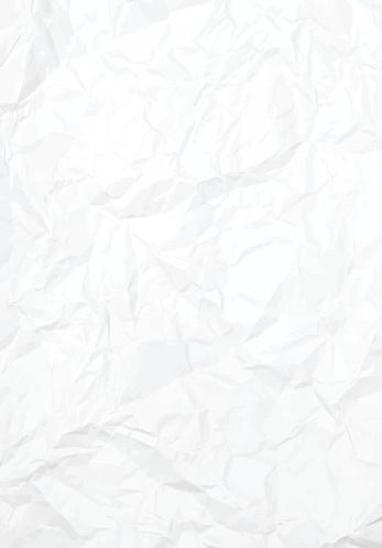 Vector Crumbled Paper Texture