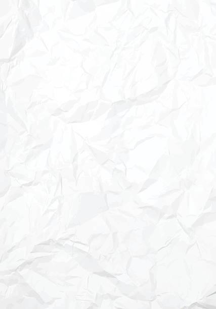 ilustraciones, imágenes clip art, dibujos animados e iconos de stock de vector crumbled paper texture - fondos arrugados