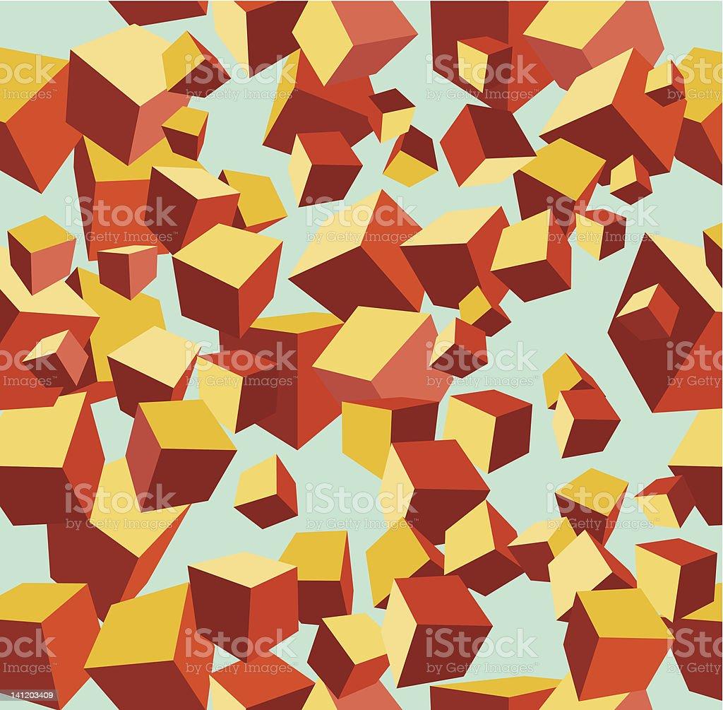 vector cube pattern royalty-free stock vector art