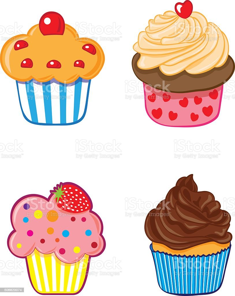 vector cupcake stock vector art more images of baked pastry item rh istockphoto com cupcake vector image cupcake vectoriel