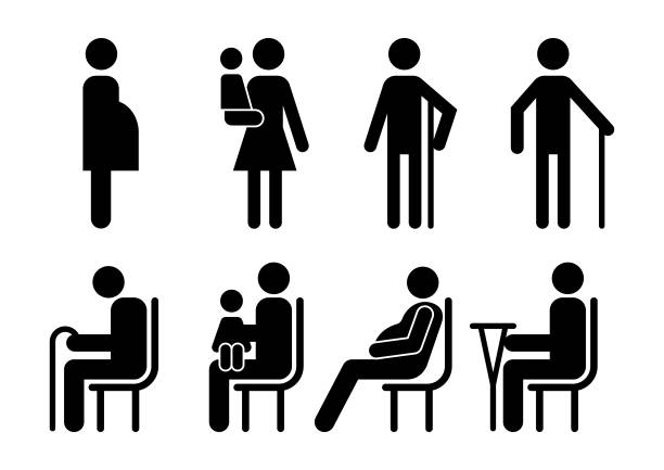 vektor-kunden-icons - fahrzeugsitz stock-grafiken, -clipart, -cartoons und -symbole