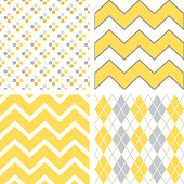 vector cute seamless patterns collection