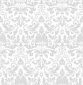 istock Vector damask seamless pattern element. Classical luxury old fashioned damask ornament, royal victorian seamless texture for wallpapers, textile, wrapping. Exquisite floral baroque template. 956390772