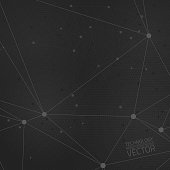 Vector dark grey background