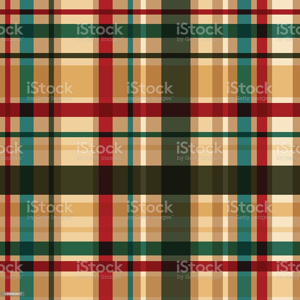 Vector dark plaid seamless pattern. Eps10 royalty-free stock vector art