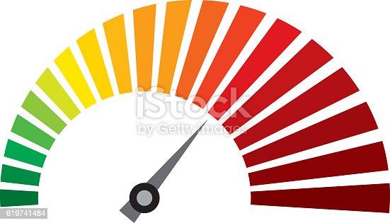 vector dashboard speedometer icon