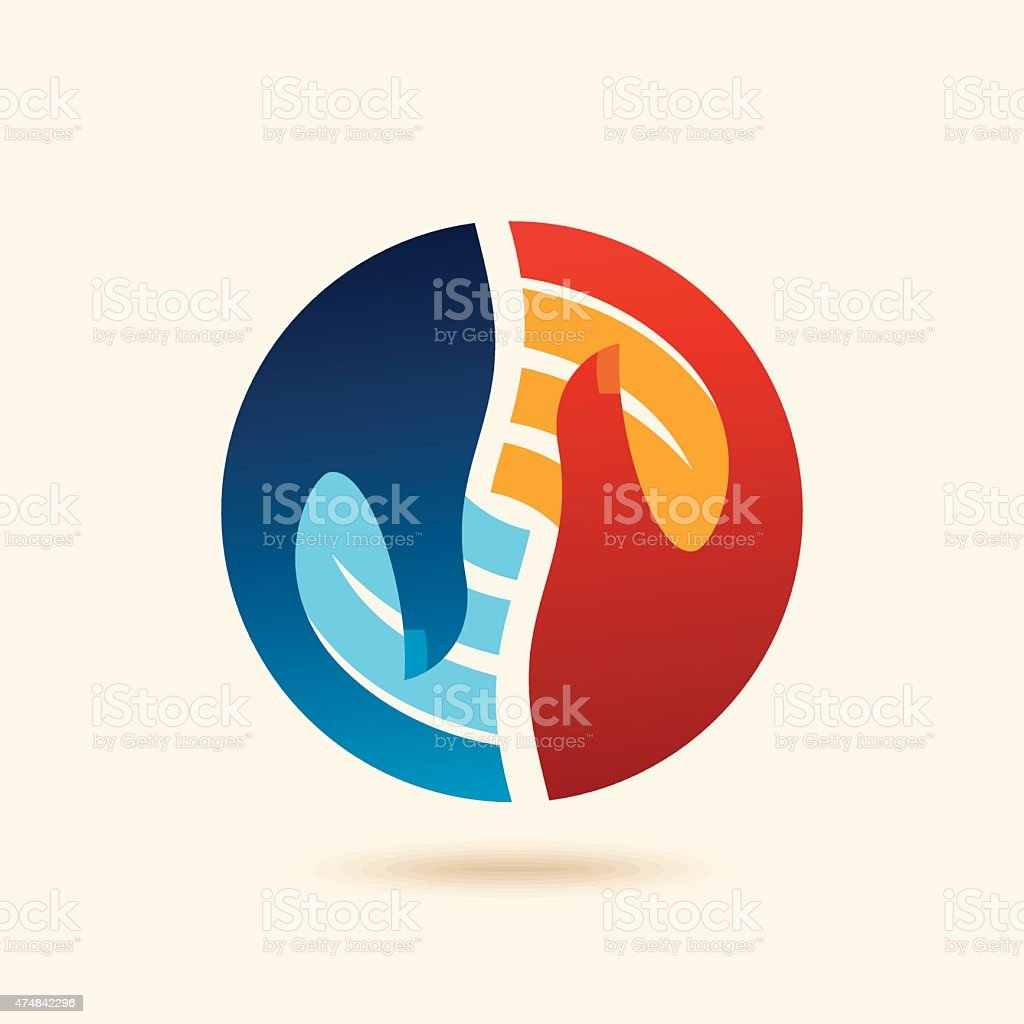 vector deal web icon design element vector art illustration