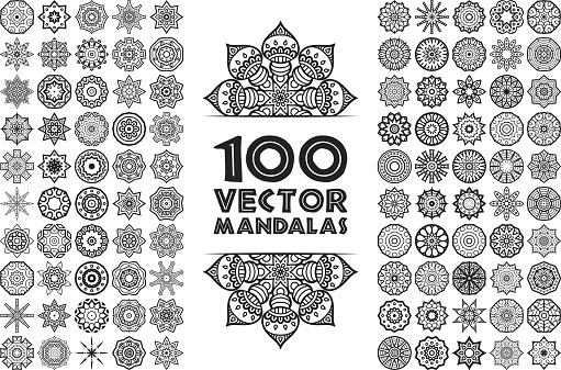 Vector decorate Mandala