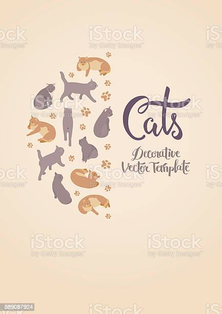 Vector decorating design with the cats vector id589087924?b=1&k=6&m=589087924&s=612x612&h=a7vohuoiqbo0csgiem7tmullylzaobx rp1iautyove=