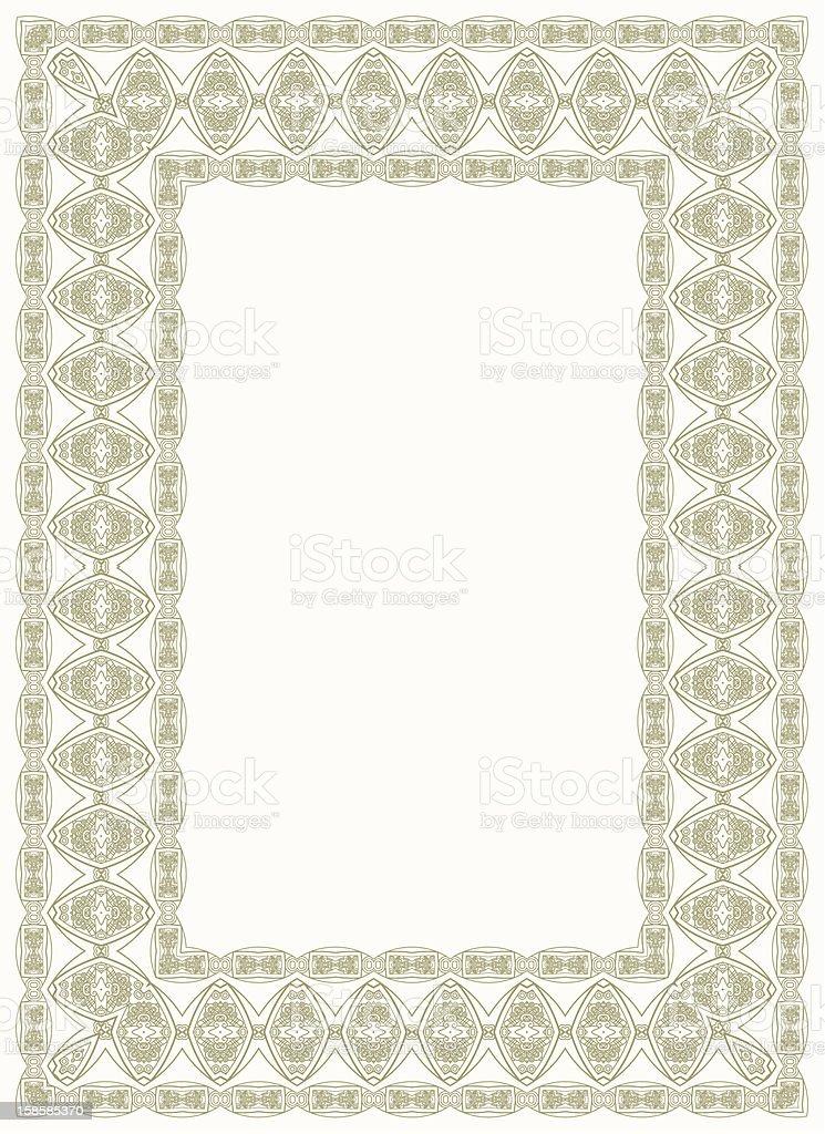 Vector decorative design element royalty-free stock vector art