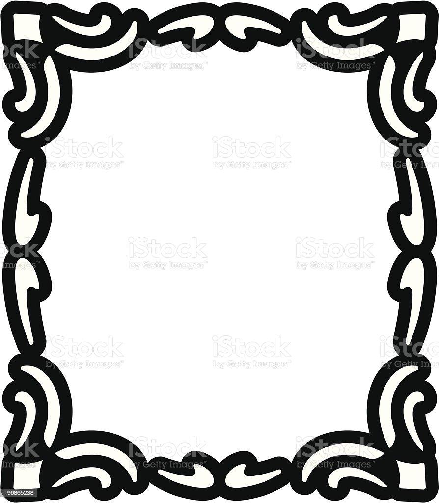 Vektor Dekorative Rahmen Lizenzfreies vektor dekorative rahmen stock vektor art und mehr bilder von altertümlich