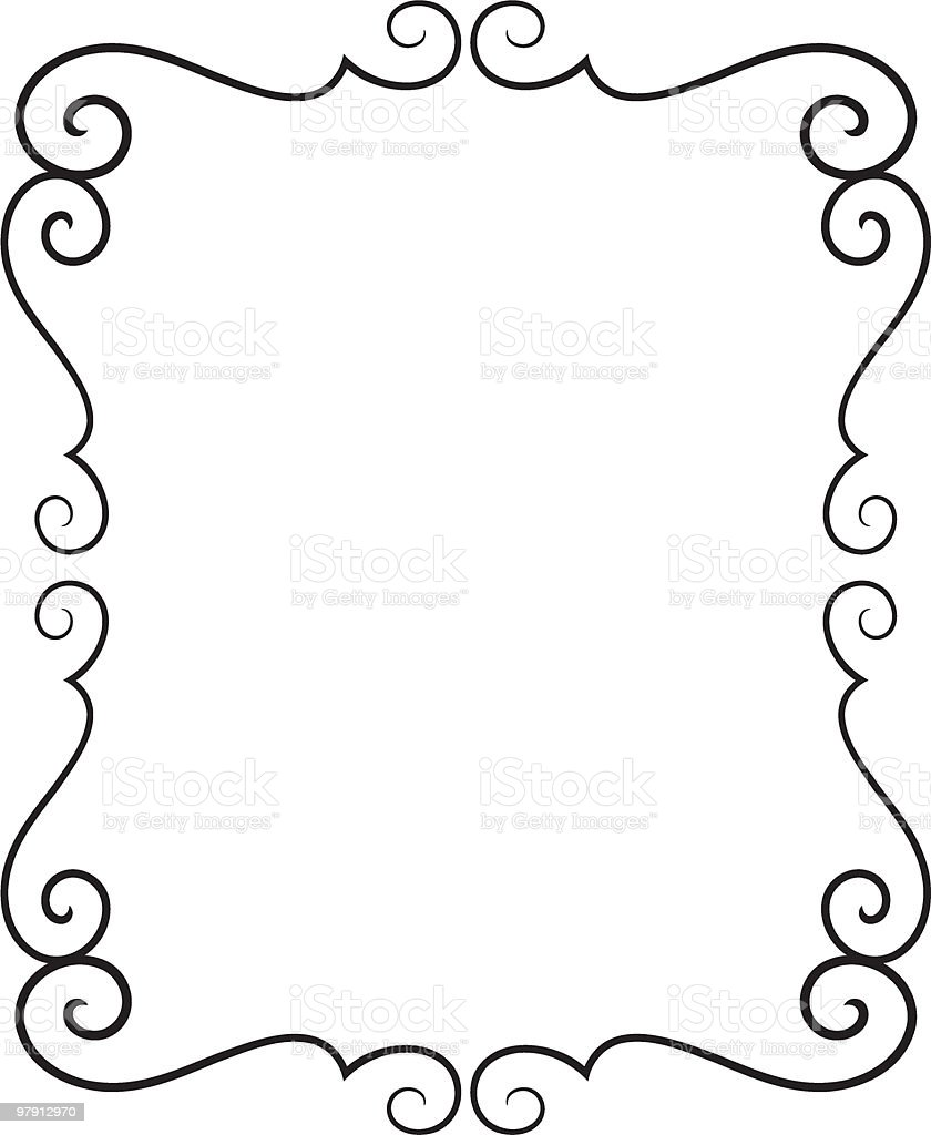 Vector decorative frame royalty-free vector decorative frame stock vector art & more images of abstract