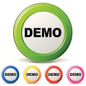 Vector demo icons