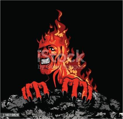 istock vector demon 116019826