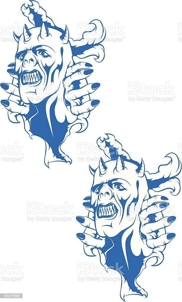 vector demon royalty-free vector demon stock vector art & more images of animal