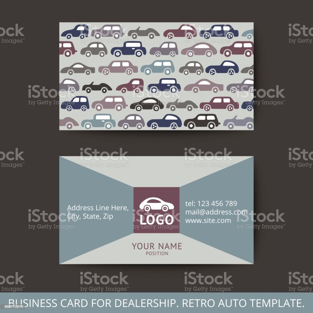 Vector design business card for auto stock vector art more images vector design business card for auto royalty free vector design business card for auto reheart Image collections