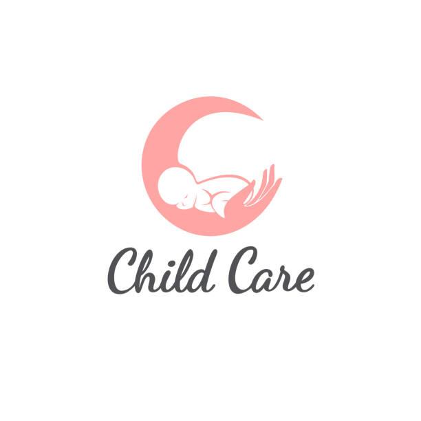 bildbanksillustrationer, clip art samt tecknat material och ikoner med vector designkoncept. baby care ikonen - baby sleeping