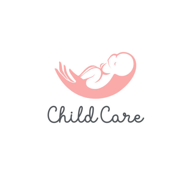 Vector design concept. Baby care icon vector art illustration