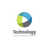 Vector design element for business. Technology sign