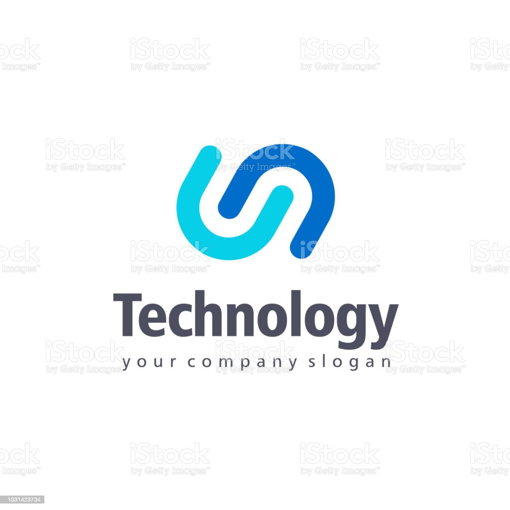 Vector design element for business. Tethnology sign vector art illustration