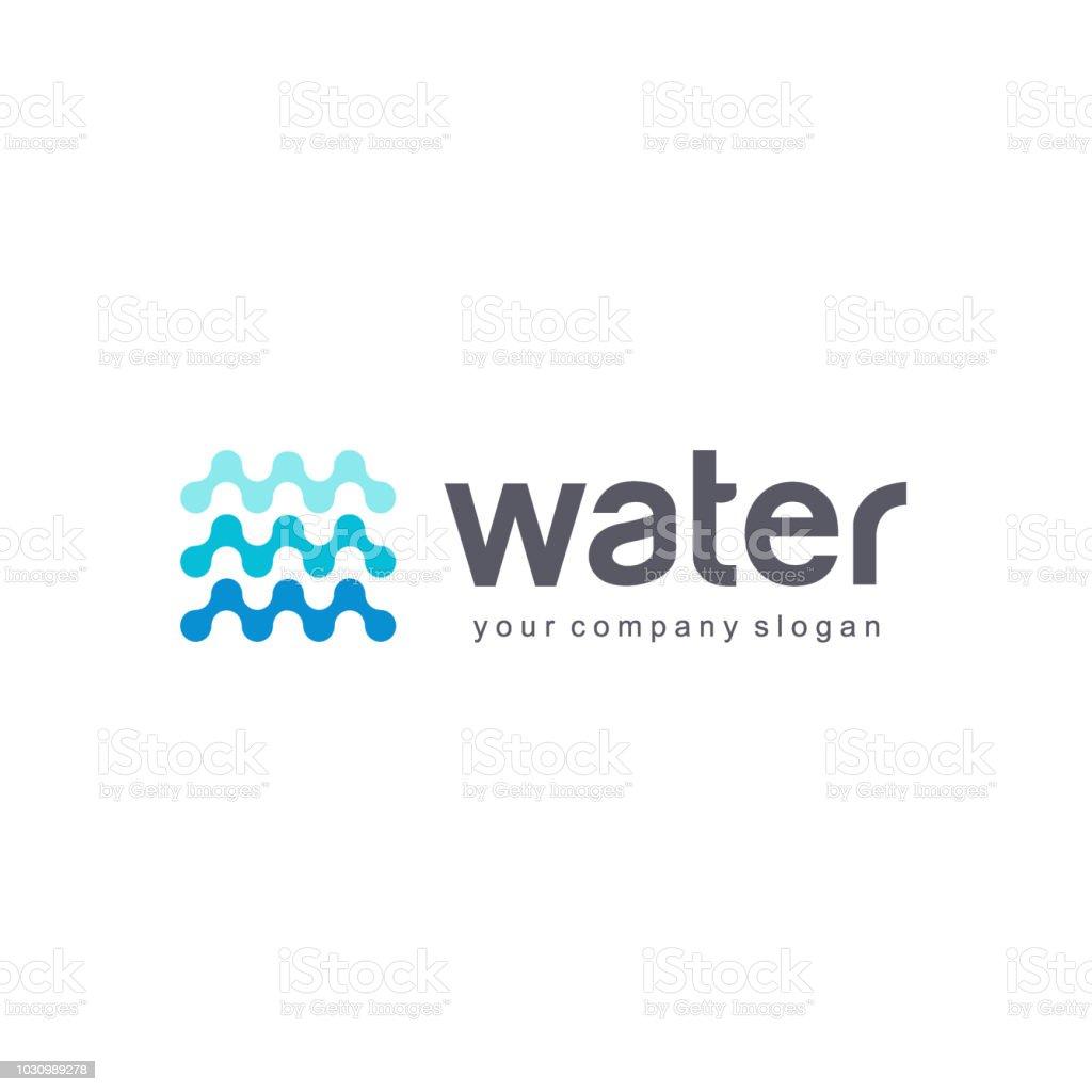 Vector design element for water. vector art illustration